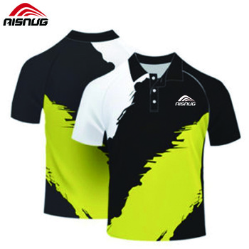 Dri Fit Polo Custom Logo Golf Shirts For Men Fancy Polo T.