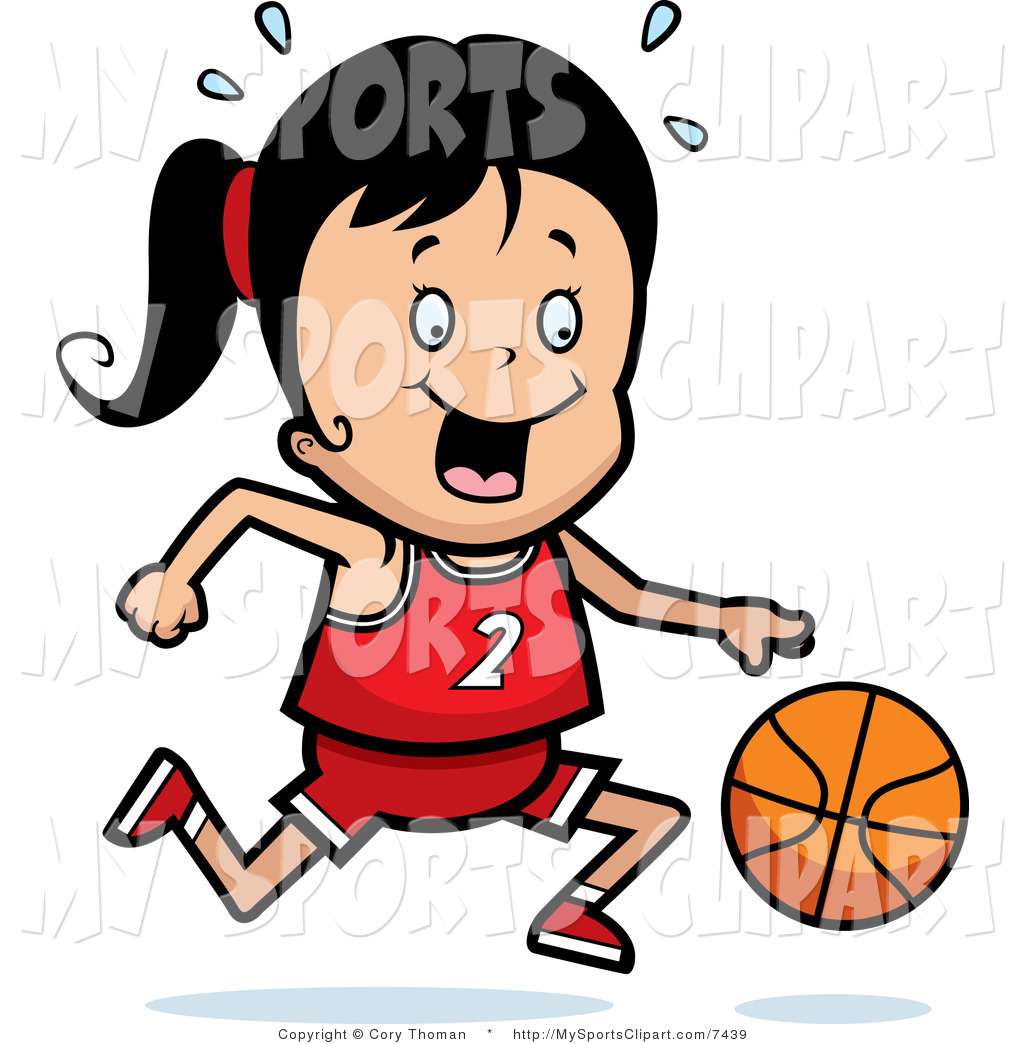 Girl Sports Clipart.