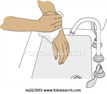 Dry Hands Clipart.