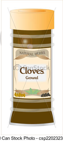 Vectors of Cloves Ground.