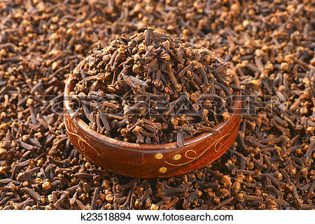 Stock Photo of Dried cloves k23518894.