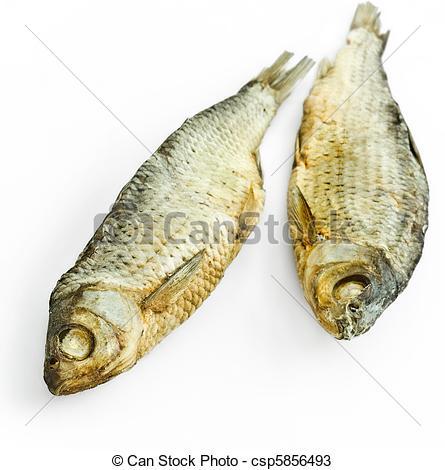 Stock Photos of dry fish.