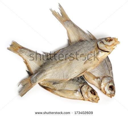 Dried Fish Stock Photos, Royalty.