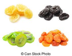 Stock Photos of Dried date fruits isolated on white background.