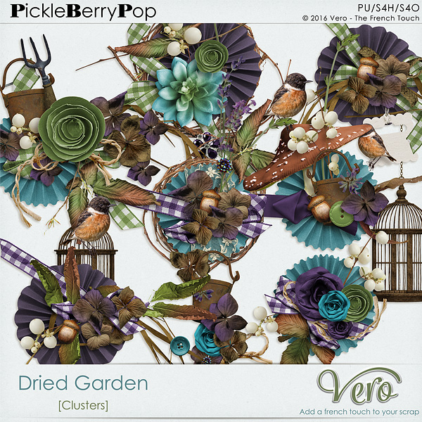 Pickleberrypop :: Element Packs :: Dried Garden [Clusters].
