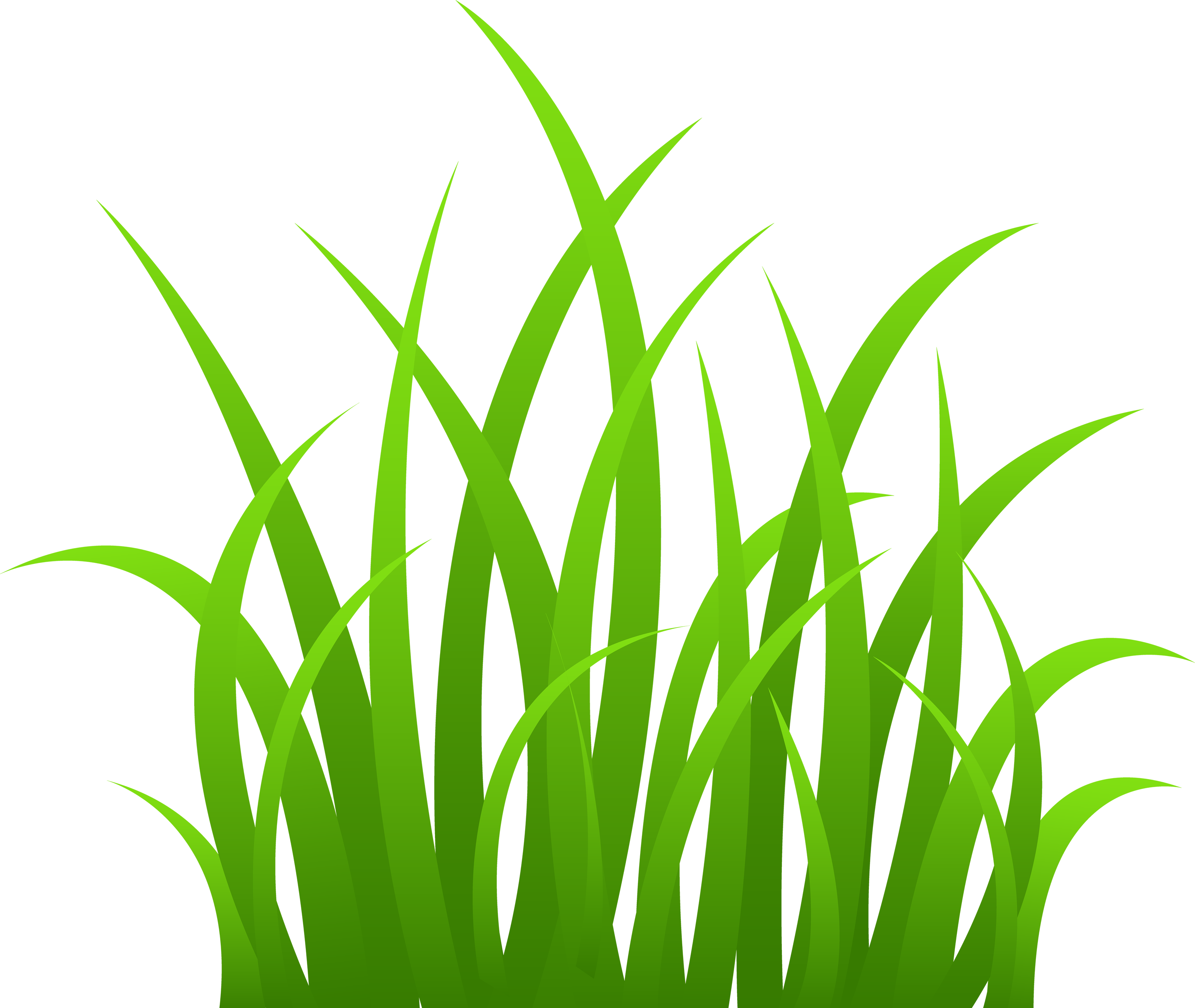 Grass clippings clipart.