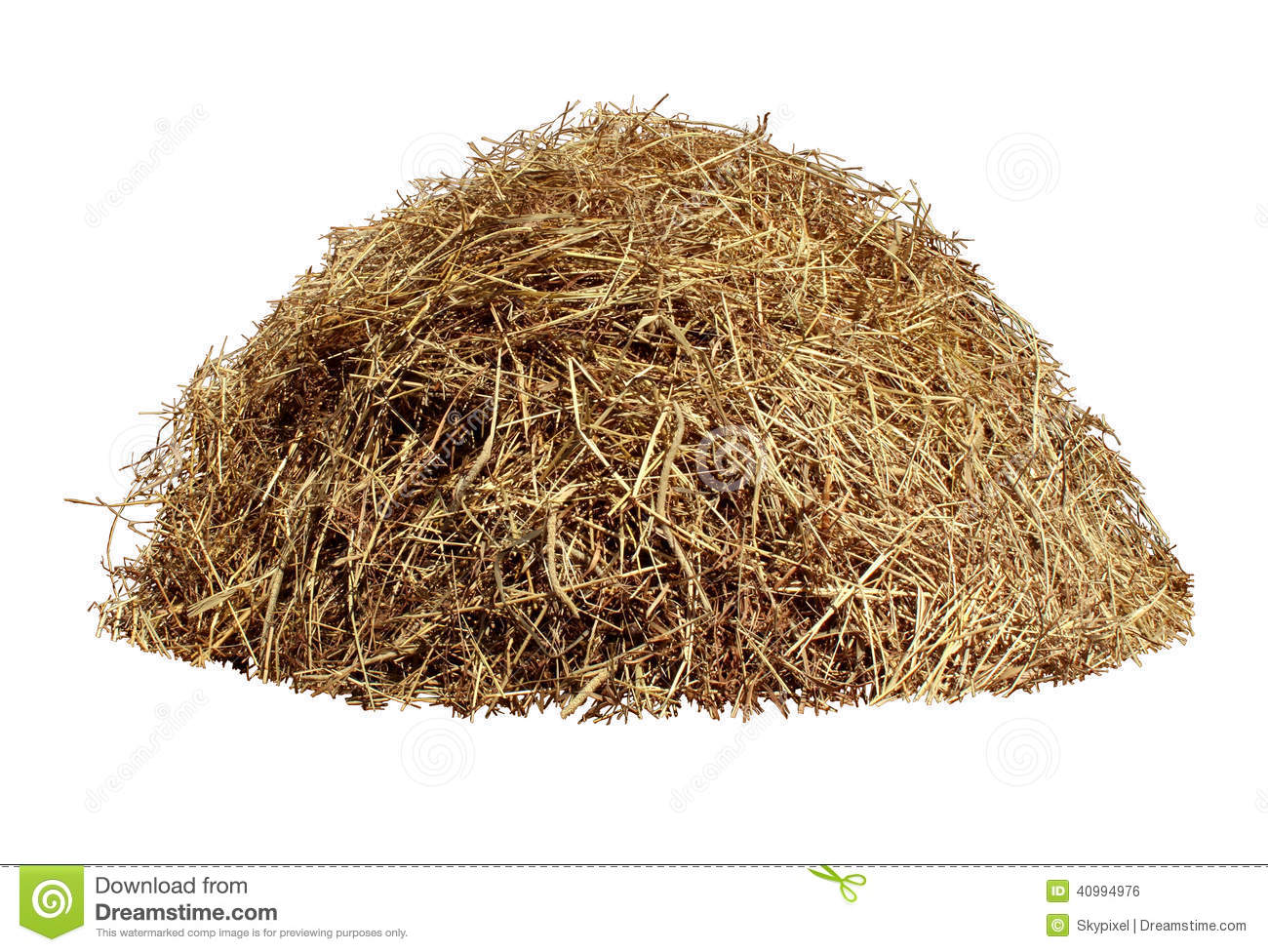 Hay piles clipart #1