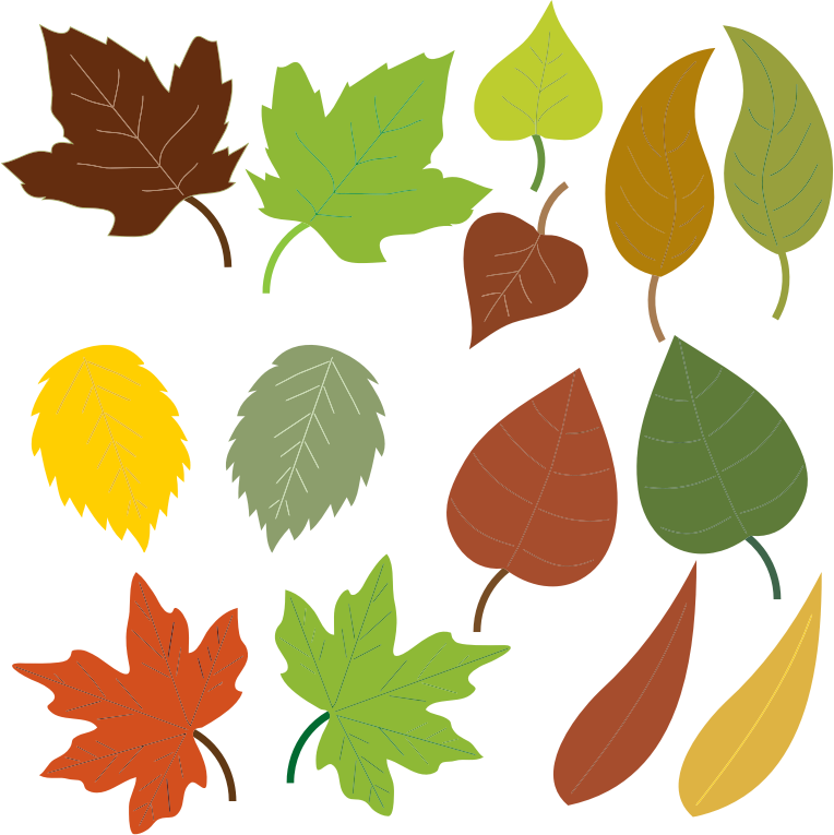 Free to Use & Public Domain Leaves Clip Art.