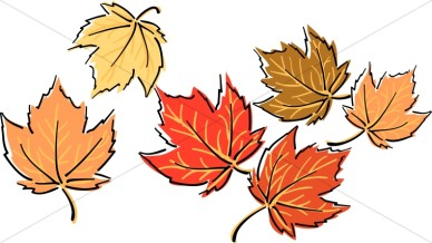 Dried Leaves Clipart.