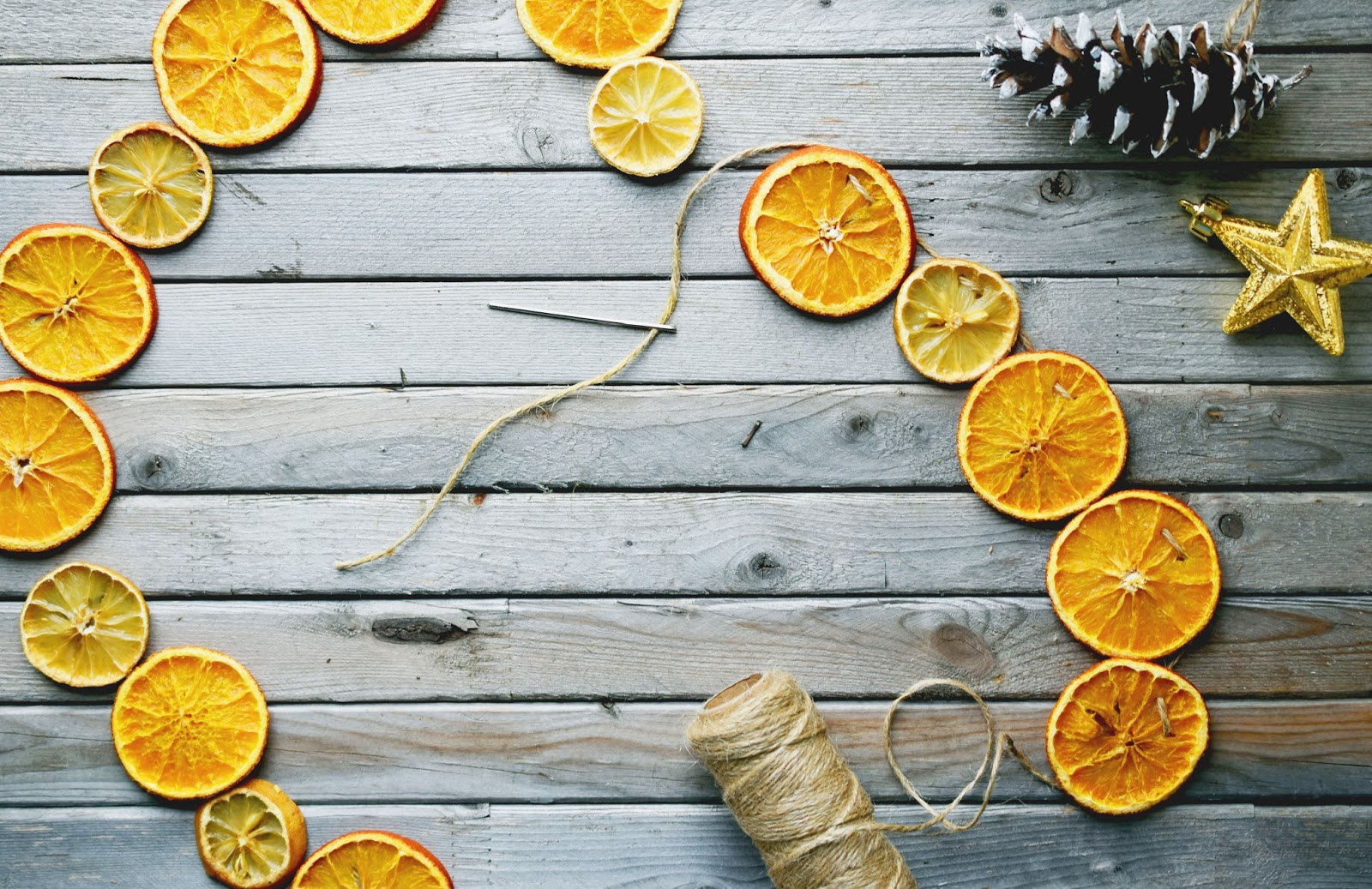 Woman in Real Life:The Art of the Everyday: Dried Orange & Lemon.