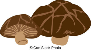 Vector Illustration of Mushroom.