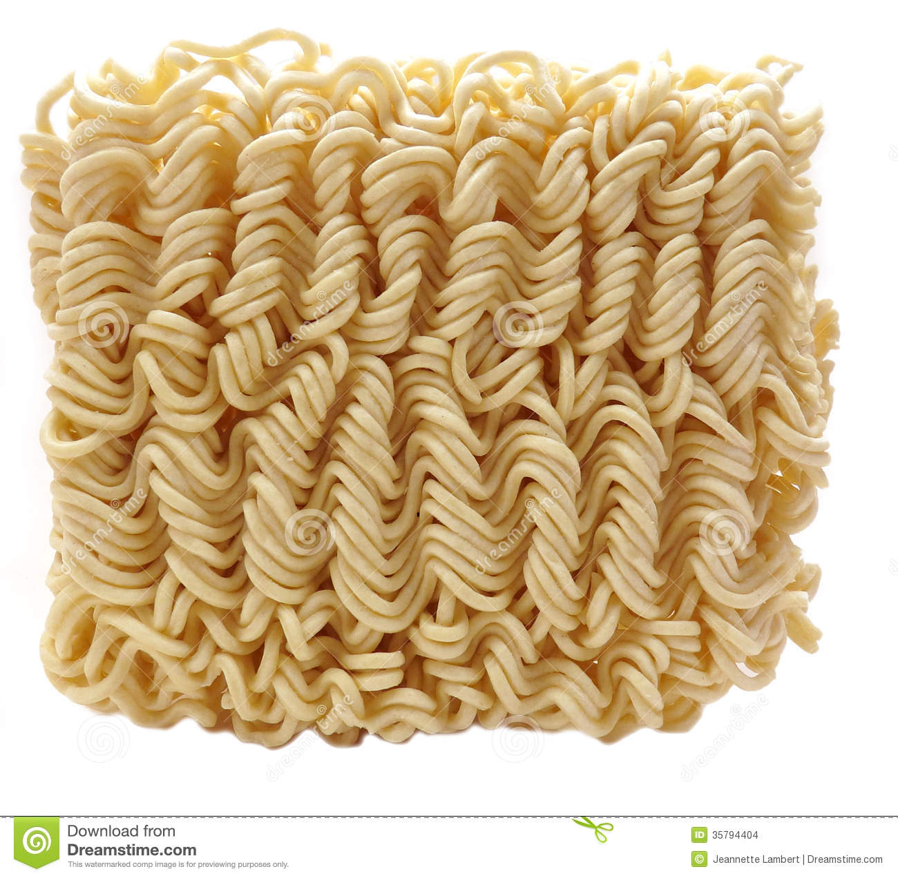 Dried Instant Noodles Stock Images.