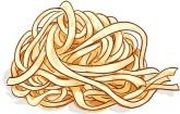 Noodle Border Clipart.