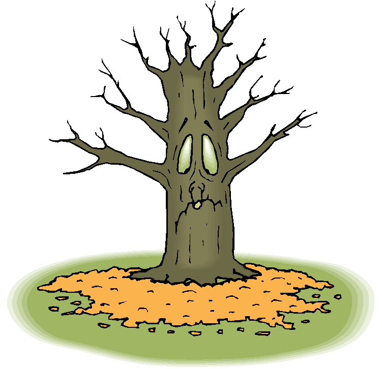 Dry Tree Clip Art.
