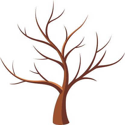 Dried Tree Clip Art, Vector Images & Illustrations.