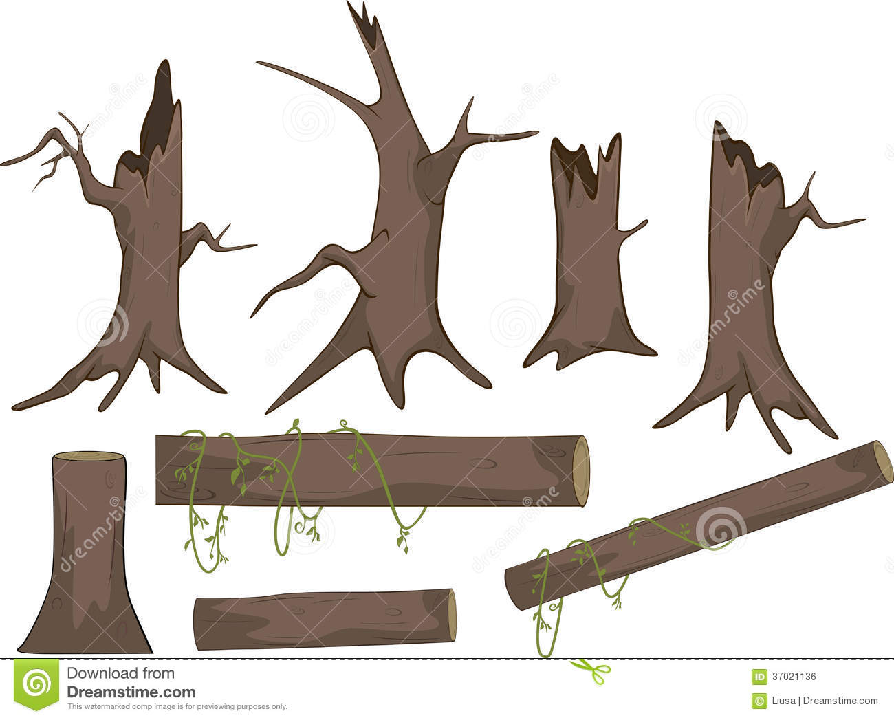 Dried tree log clipart 20 free Cliparts | Download images ...