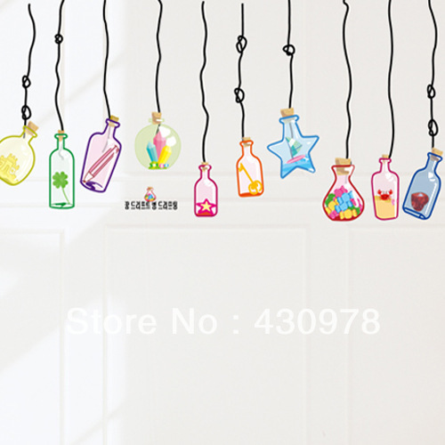Online Buy Wholesale drifting bottle wall sticker from China.