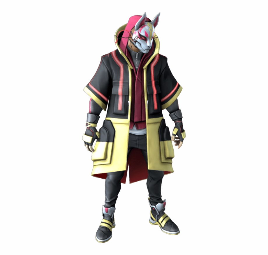 Download Free png Drift Fortnite Outfit Skin.