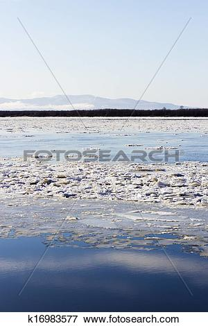 Picture of Ice drift k16983577.