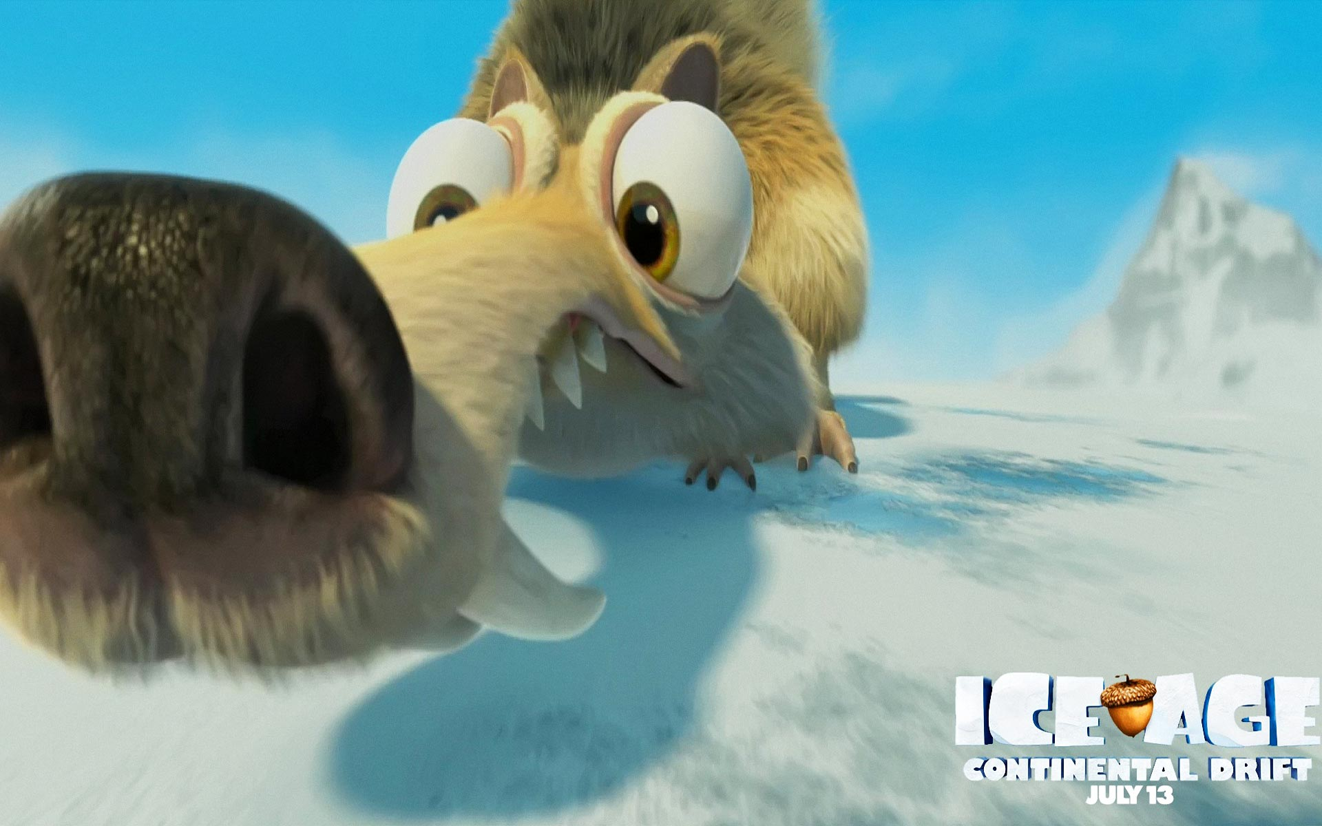Ice age sid clipart.