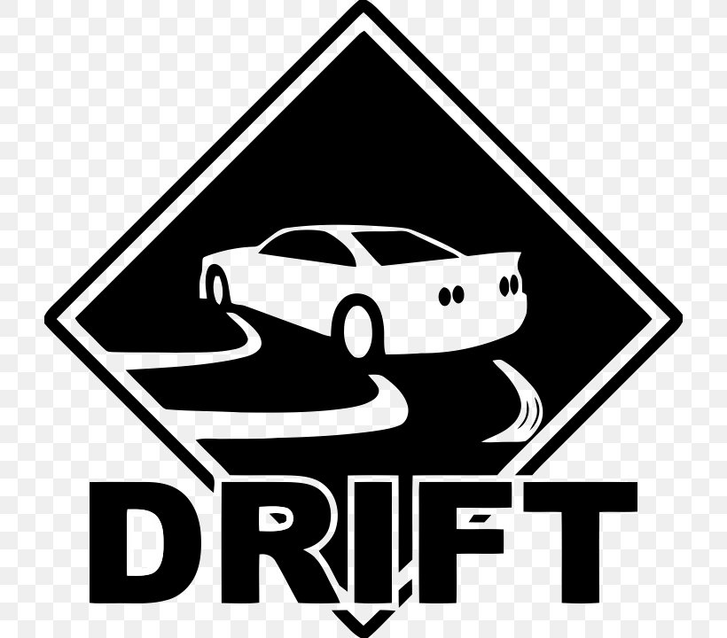 Drifting Sticker Decal Car Logo, PNG, 720x720px, Drifting.
