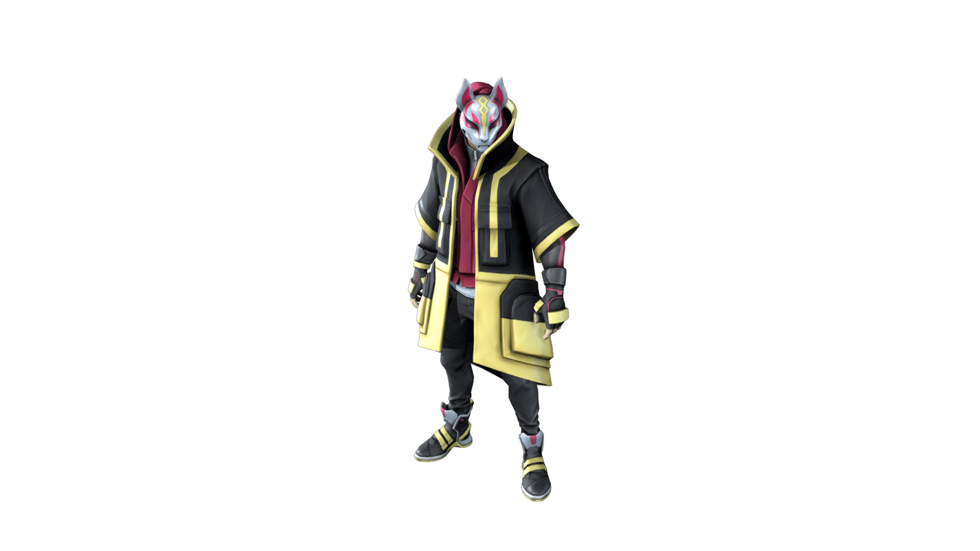 Drift Fortnite Outfit Skin How to Upgrade, Stages, Details.