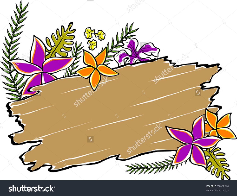 Driftwood Clip Art.