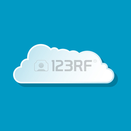 Drifting clouds clipart.