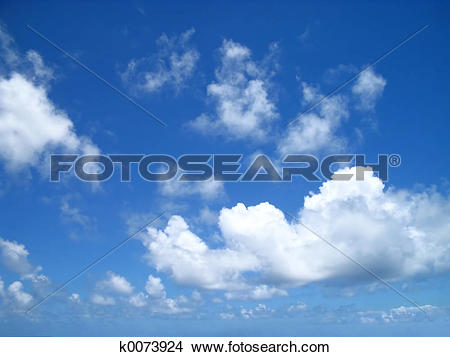 Stock Photo of Drifting Clouds k0073924.