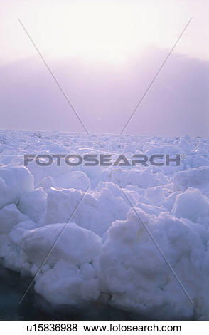 Pictures of Drift Ice And The Morning Sun u15836988.
