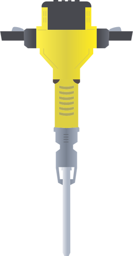 Clip art of pneumatic drill.