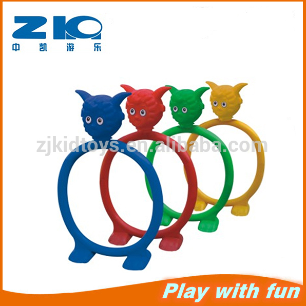 Indoor And Outdoor Colorful Plastic Drill Holes For Kids Playing.