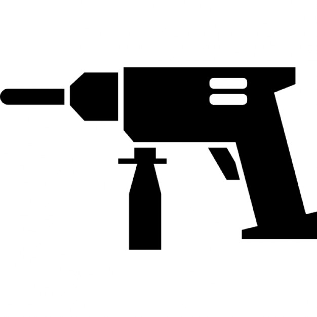 Drill tool to make holes Icons.