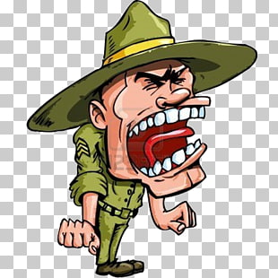 32 drill Instructor PNG cliparts for free download.