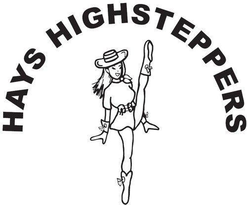 Drill team dancer clipart.