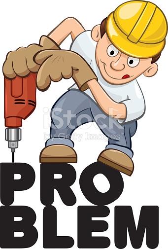 Drill Down Fix The Problem stock vector art 533647461.