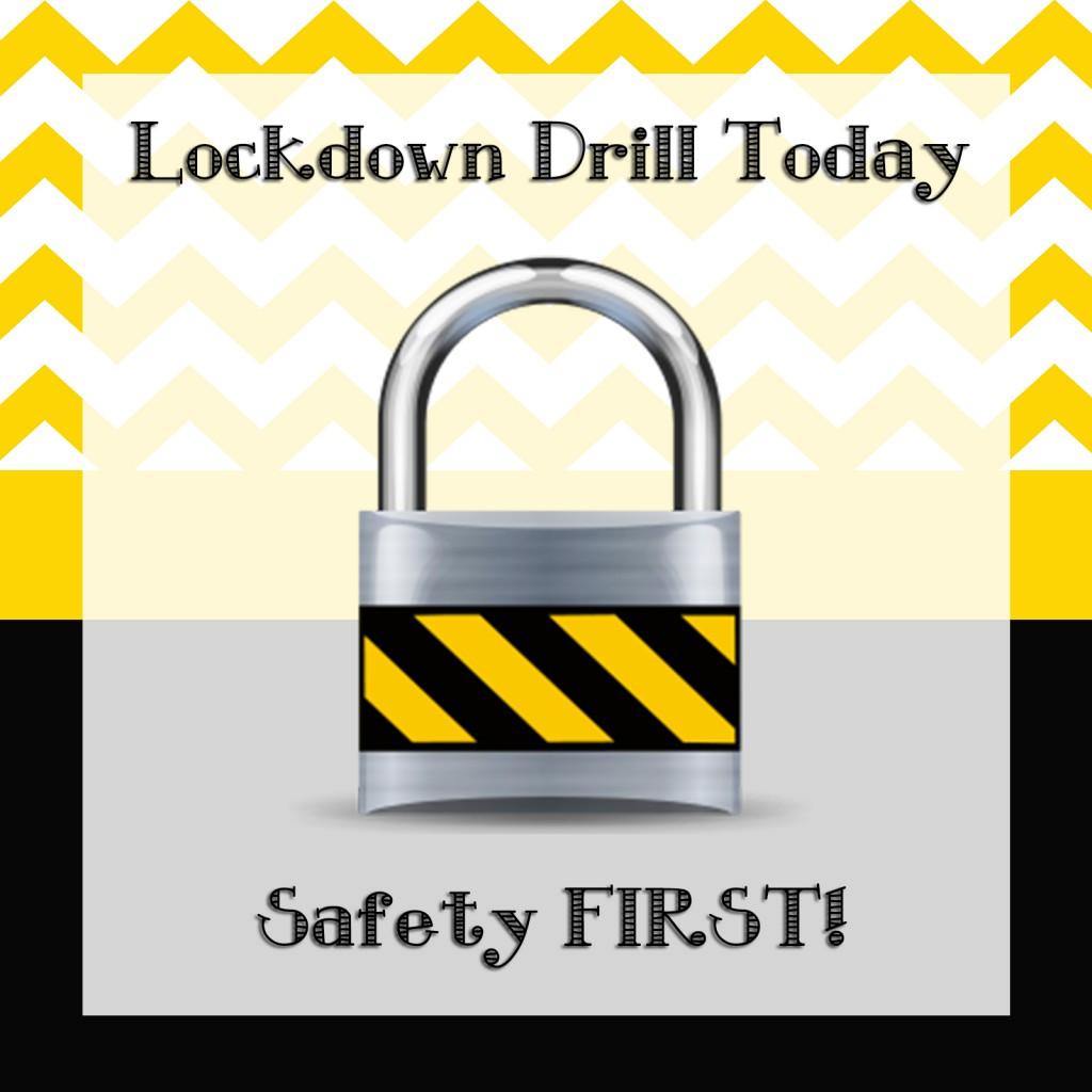 Lockdown clipart for school.