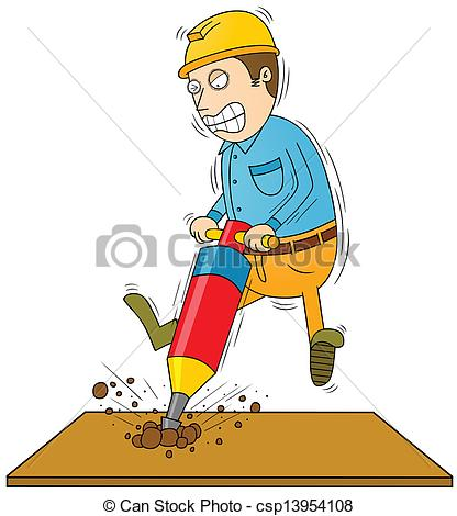 Drilling clipart.