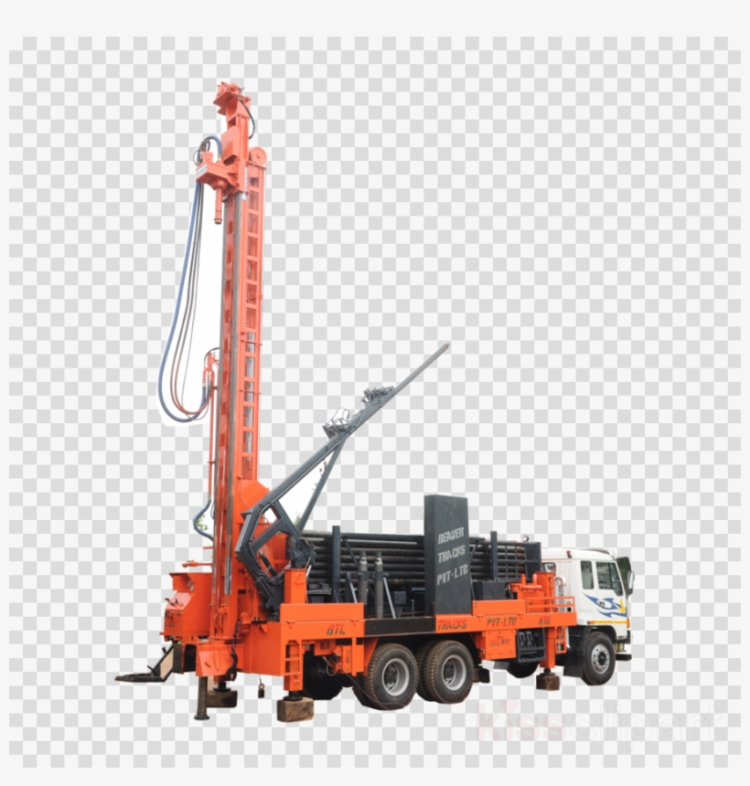 Drill Clipart Drilling Rig Augers.