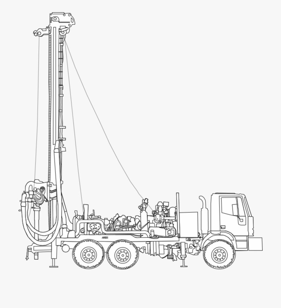Drilling Rigs , Transparent Cartoon, Free Cliparts.
