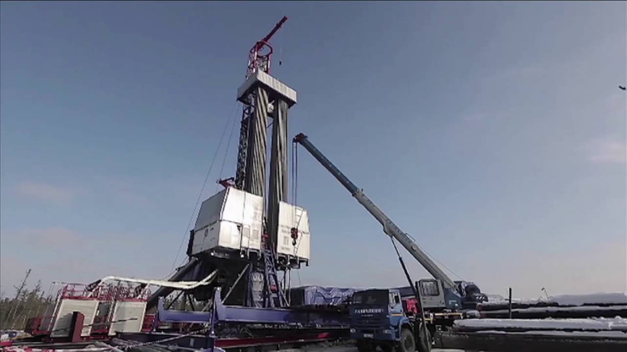 PNG Drilling Company operations in Siberia, Video.