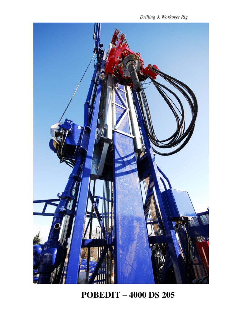Drilling & Workover Rig.