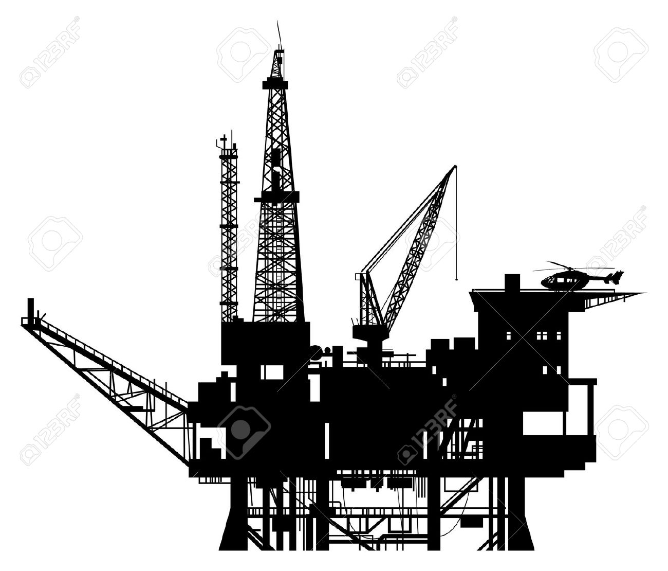 Oil Rig Clipart & Oil Rig Clip Art Images.