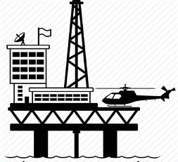 Clipart oil rig.