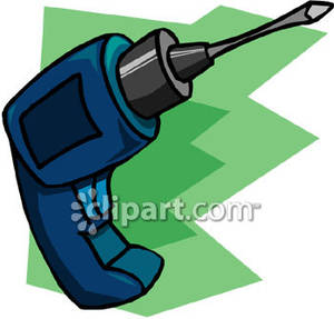 Blue Power Drill.