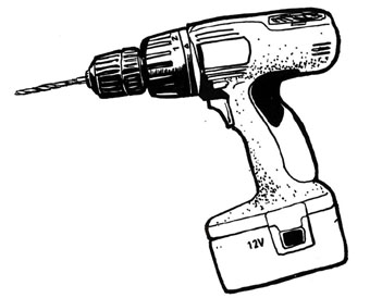 Drill cliparts.