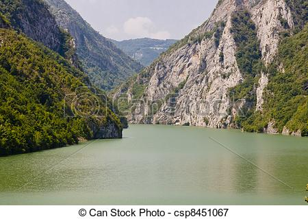 Picture of Drina river.