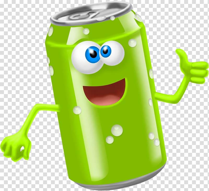 Fizzy Drinks Smiley Emoticon Beverage can , Soda Can.