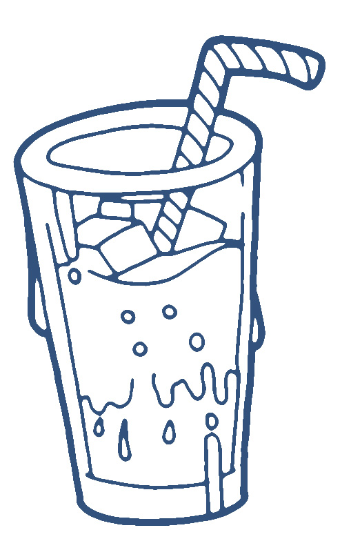 Cold drink clipart.