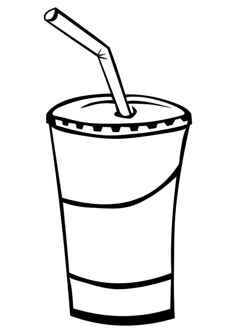 Free Drinks Clipart Black And White, Download Free Clip Art, Free.